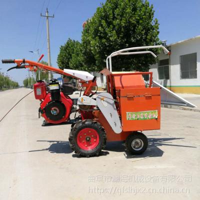 单行多功能家用苞米收割机 四轮拖拉机前置玉米收获机 座驾式收棒子机