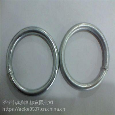 内蒙古捆扫把铁圆环 6mm铁环各种尺寸