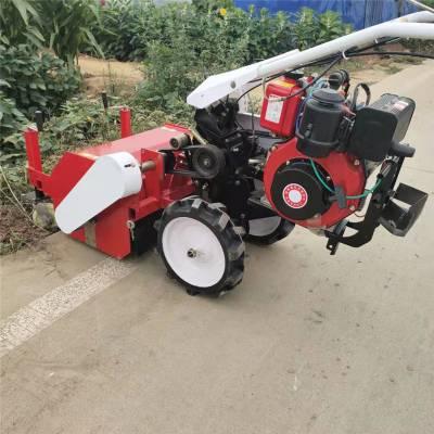 亚博国际真实吗机械 果园灭草机 手推式碎草还田机 小型柴油汽油锄草机厂家