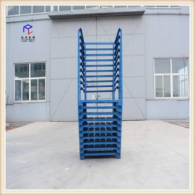 重庆堆垛式货架 巧固架厂家批发车间堆垛物料架 冷库专用堆垛架