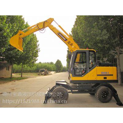 BD95W-9新能源轮式挖掘设备批发