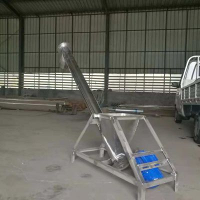 U型螺旋淤泥输送机 电动管式上料设备