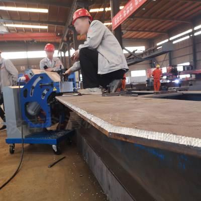 济南科清坡口机 厚板双面坡口机 上下钢板包边机 旋转坡口机 GBM-16D-R