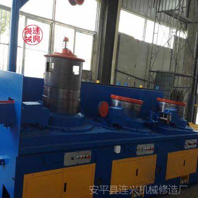 直进式拔丝机设备 连兴金属拉拔机器生产速度快