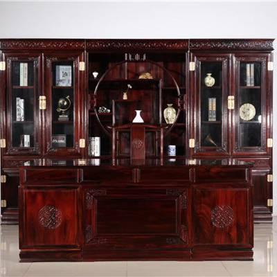 红木家具办公桌-浙兴红木(在线咨询)-金华红木办公桌