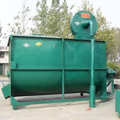 固阳县全自动蛋鸡饲料混合机 卧式羊饲料搅拌机 多功能养殖草料混料机