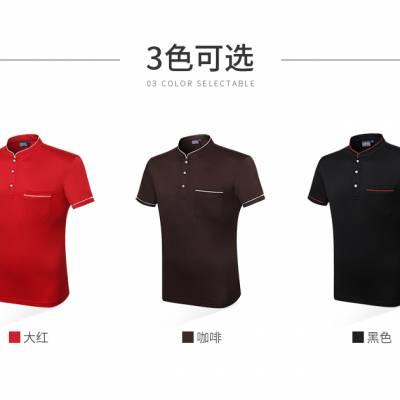 名匠优品高尔夫polo衫定制t恤印logo 短袖企业文化衫工衣翻领工作服订制