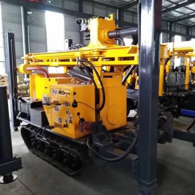 履带式气动水井钻机QY-200气动凿岩钻井机工程水井打井机