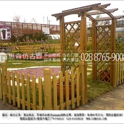 大型抗氧化木质屋_成都惠森明清室外木质屋定制