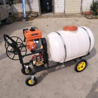 果园杀虫打药机 金佳大容量药桶打药机图片 农业手推喷雾器
