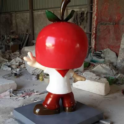 卡通人物雕塑玻璃钢-安徽大手(在线咨询)-安徽玻璃钢雕塑