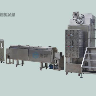 专业定制臣泽CZ-CJC-101立式双色硅胶挤出生产线