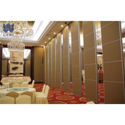 沃欧承接全国星级酒店专用活动隔断定制 十年以上移动隔断行业经验厂家 防火板移动隔音隔断门
