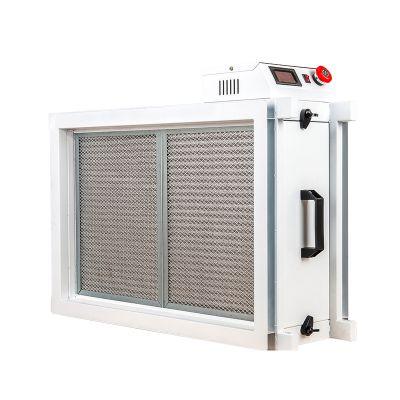 管道電子式空氣凈化器組合空調機組式靜電消毒凈化器風管式電子除塵凈化裝置利安達