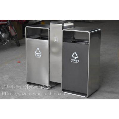 重庆不锈钢户外垃圾桶 室外环保垃圾桶 果皮垃圾桶 分类垃圾桶