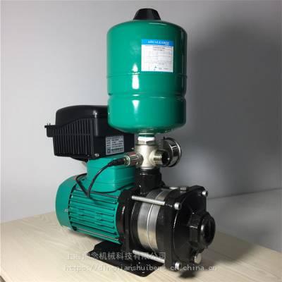 智能型变频供水设备MHIL404-3/10/E/1-220德国wilo威乐变频泵