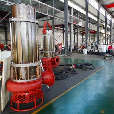 排渣河沙泵 电动潜渣泵 高合金排渣机泵(山东江淮)
