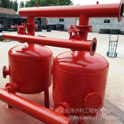 供应农业节水灌溉钢制砂石过滤器常年生产多年制造经验 家庭园艺
