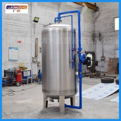 厂家大量供应石英砂过滤器 8吨不锈钢机械过滤器 广旗牌水处理过滤器