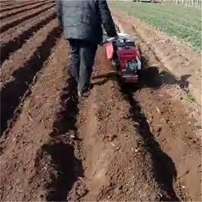 供应新疆开沟机 春大葱培土机 手扶式开沟起垄机圣通