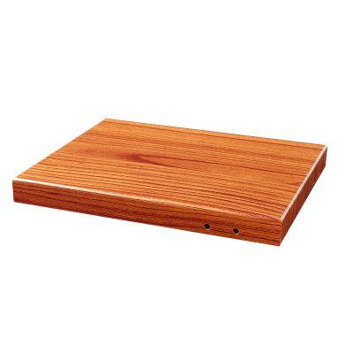 木纹热转印铝单板 仿木色铝板装修材料