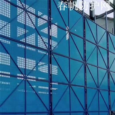 厂家直销 喷塑镀锌板爬架网防腐耐磨建筑外墙爬架网片防滑爬架网