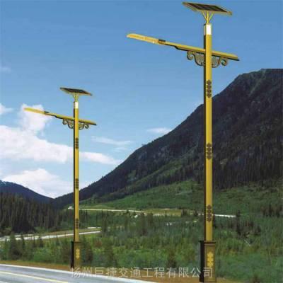 太阳能庭院灯厂家3.5米_4米_5米订做_造型设计_配置推荐_按需定制