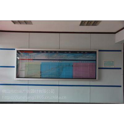 如何制作铝合金室内报传栏