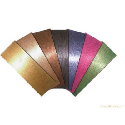供应彩色不锈钢板 佛山彩色板 不锈钢彩色板