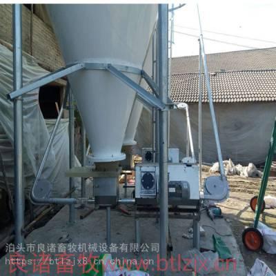 厂家供应大型养猪场自动喂料线 不锈钢料线 猪场自动上料设备 母猪饲料输送设备