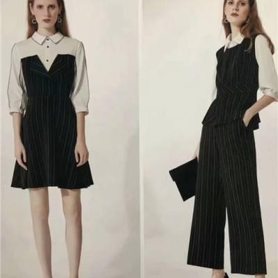 杰茜莱尾货女装品牌女装折扣剪标货源市场