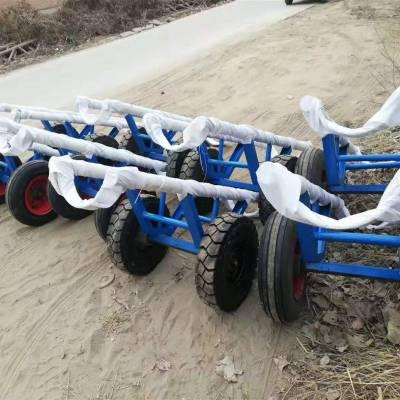 陕西延安 电力施工电线杆运杆车 双杆运杆车 12米运杆车