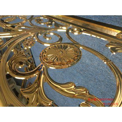 欧式楼梯铝板雕刻护栏 铝艺栏杆多种风格驾驭自如