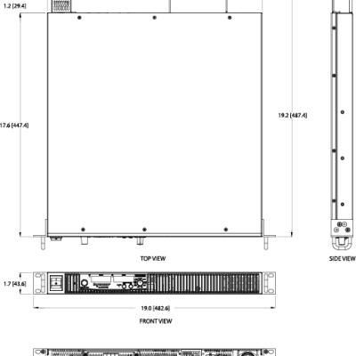 AMETEK/阿美特克美国XG 1700高程控直流电源