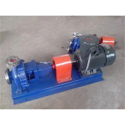 程跃泵业化工泵-轴向吸入化工泵材质
