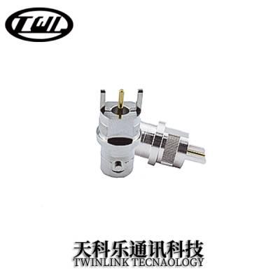 BNC连接器 母头 焊接