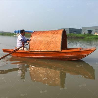 戴氏景观乌篷船 销售摇橹景观乌篷船 景观乌篷船生产厂家