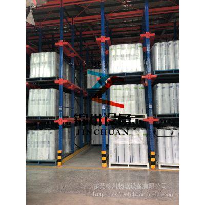 湖南堆垛架实力厂家-东莞锦川专业定制布匹架质量有