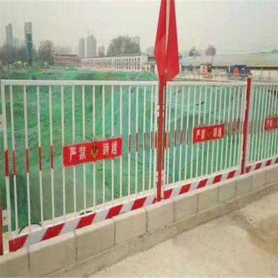 基坑围栏隔离网 临时防护围网 人货电梯安全门