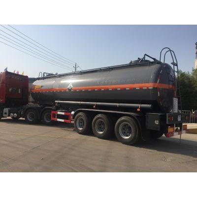 40吨危险品衬塑罐车, 亚硫酸钠罐车价格图片