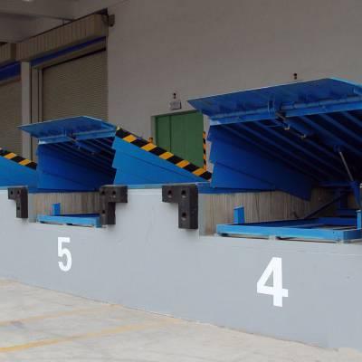 物流集装箱升降台定制 大吨位装卸平台 长安区启运销售液压式登车桥