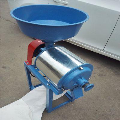 飞创 卧式去麸皮小麦玉米打面机 锥形对辊式40p磨面机