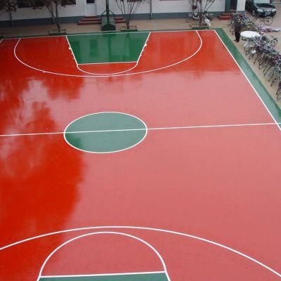 塑胶篮球场 小区塑胶篮球场施工 硅pu篮球场施工 硅pu篮球场投标 塑胶篮球场铺设