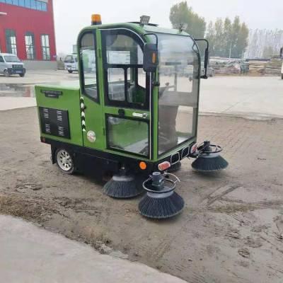 热销新能源电动扫路车 工地道路扫地车 鸿哲 新能源电动小型扫路车
