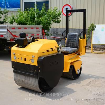 手扶单轮振动压路机 700风冷动力座驾式压路机价格