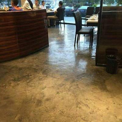 停车场环氧复古地坪-安徽增品地坪工程-合肥复古地坪