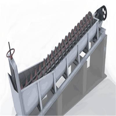 915双螺旋洗砂机 水洗沙设备价格 洗砂设备制造公司
