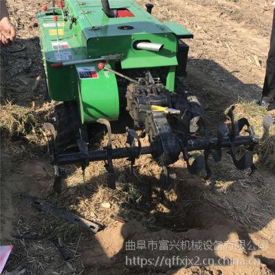 自走式翻土埋土机-果园除草施肥机-富兴机械生产果树施肥全自动开沟机