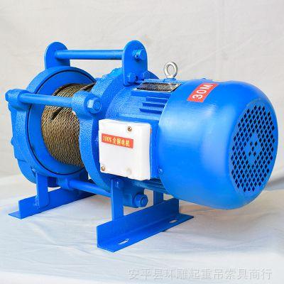 安平县维修安装小型钢丝绳提升机喷塑提升炉灶门一吨2吨3吨5T