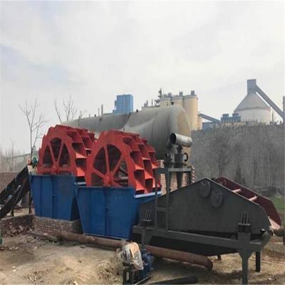 轮斗洗砂机价格 内蒙水轮洗砂机厂家 移动洗沙设备 小型水洗砂设备